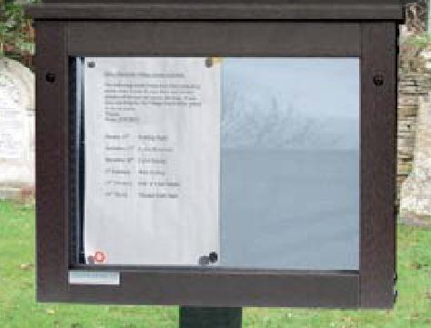 Replacement notice board